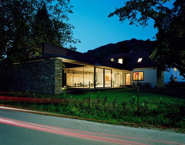Anexamiento de estructura moderna a casa común planos incluidos (8)
