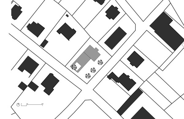 Anexamiento de estructura moderna a casa común planos incluidos (7)