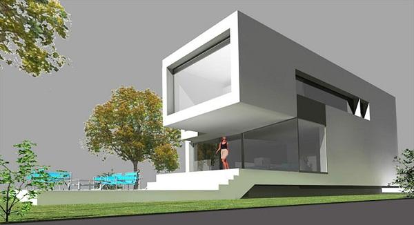 diseos de casas modernas en d