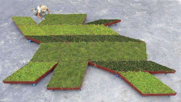 Planos de jardines - Diseños de jardines - Jardines modernos (8)