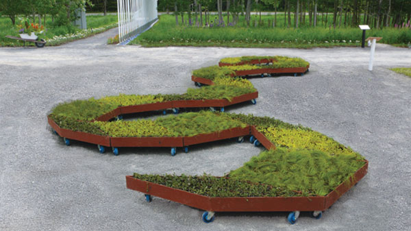 Planos de jardines - Diseños de jardines - Jardines modernos (1)