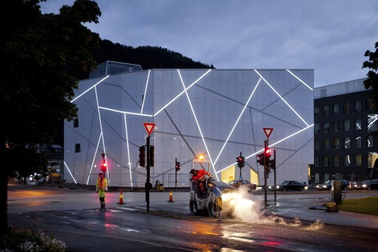 Planos de museo sofisticado en Noruega (14)