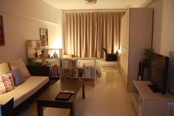 30 modelos y diseños de acomodamiento en apartamentos pequeños (18)
