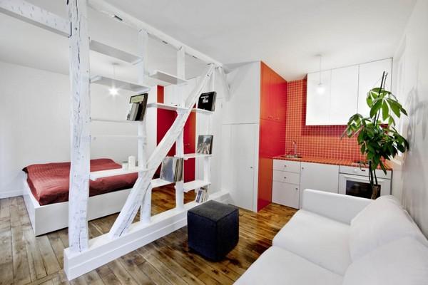 30 modelos y diseños de acomodamiento en apartamentos pequeños (13)