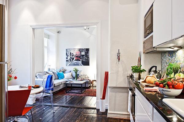 30 modelos y diseños de acomodamiento en apartamentos pequeños (29)