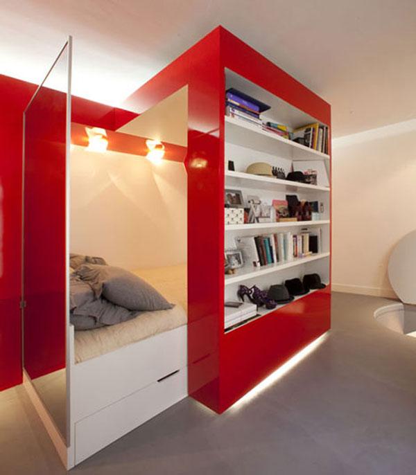 30 modelos y diseños de acomodamiento en apartamentos pequeños (25)