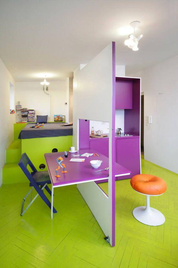 30 modelos y diseños de acomodamiento en apartamentos pequeños (30)