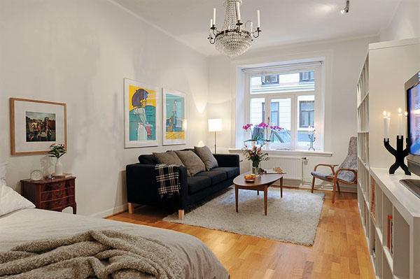 30 modelos y diseños de acomodamiento en apartamentos pequeños (21)