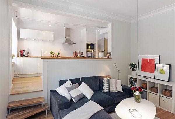 30 modelos y diseños de acomodamiento en apartamentos pequeños (19)