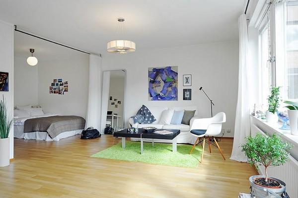30 modelos y diseños de acomodamiento en apartamentos pequeños (15)