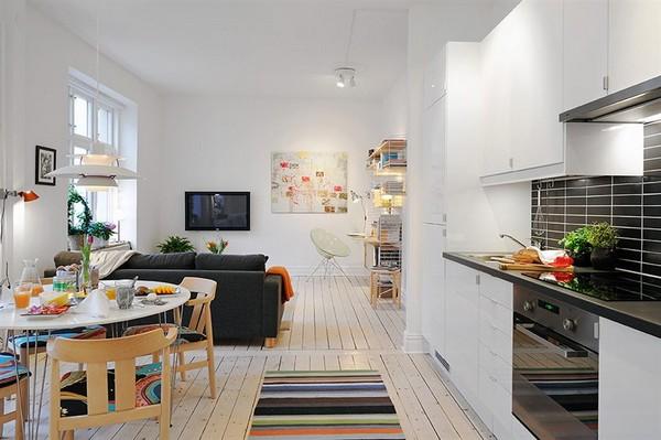 30 modelos y diseños de acomodamiento en apartamentos pequeños (10)