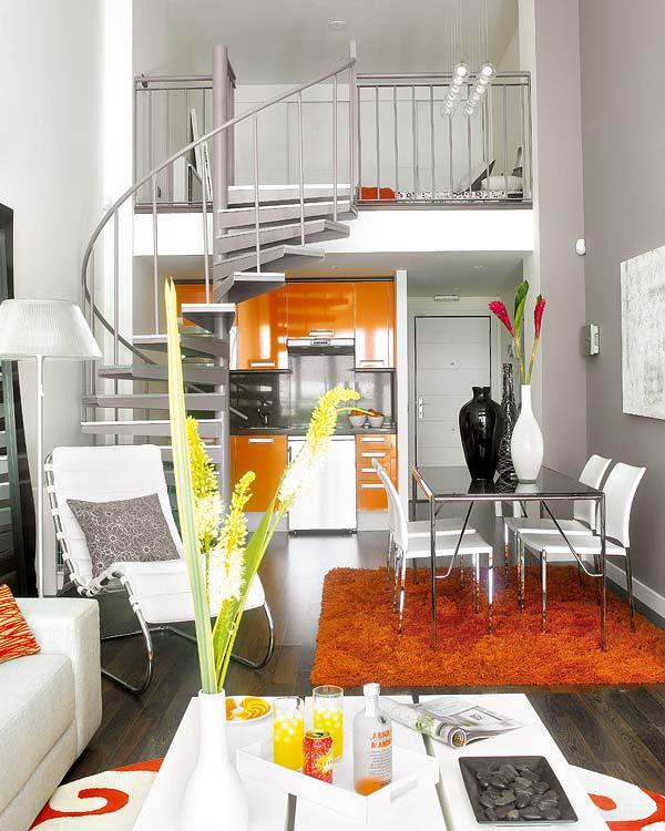 30 modelos y diseños de acomodamiento en apartamentos pequeños (6)