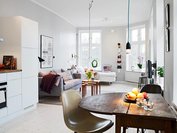 30 modelos y diseños de acomodamiento en apartamentos pequeños (5)