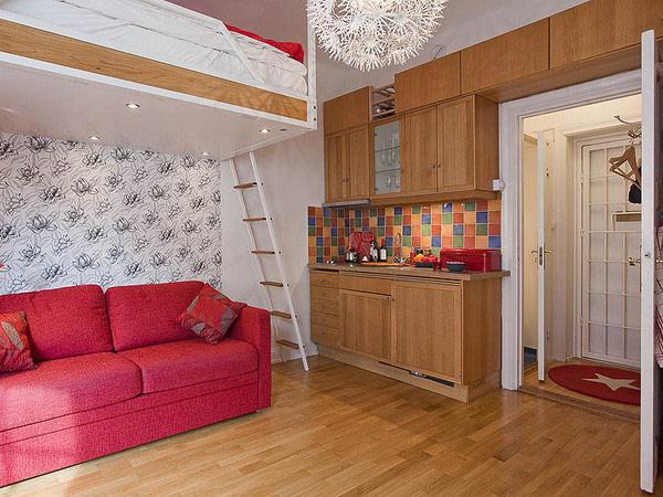30 modelos y diseños de acomodamiento en apartamentos pequeños (4)
