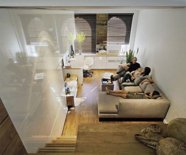 30 modelos y diseños de acomodamiento en apartamentos pequeños (3)