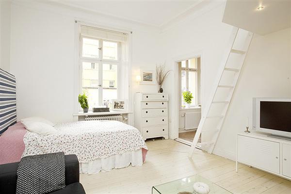 30 modelos y diseños de acomodamiento en apartamentos pequeños (26)