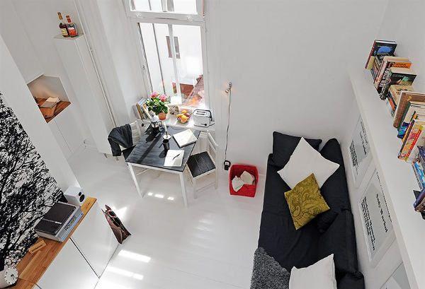 30 modelos y diseños de acomodamiento en apartamentos pequeños (23)