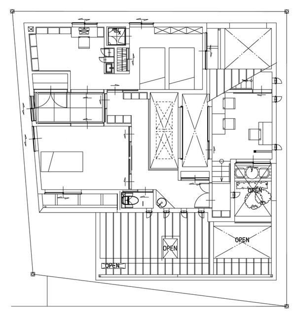 Arquitectura moderna japonesa – Planos de casa moderna en japón
