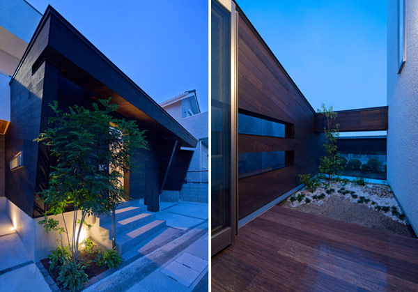 planos de casas modernas en japon