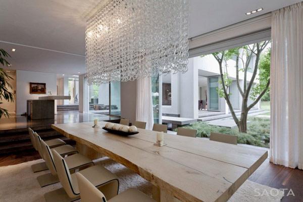 Grandioso diseño arquitectónico en Sudafrica con detalles selváticos (8)
