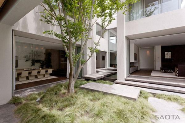 Grandioso diseño arquitectónico en Sudafrica con detalles selváticos (15)