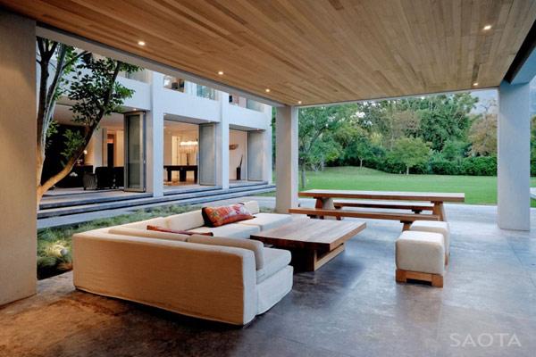 Grandioso diseño arquitectónico en Sudafrica con detalles selváticos (12)