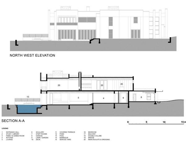 Grandioso diseño arquitectónico en Sudafrica con detalles selváticos (1)