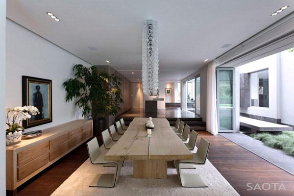 Grandioso diseño arquitectónico en Sudafrica con detalles selváticos (9)