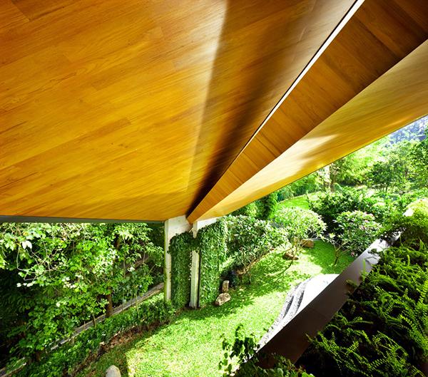 Planos contemporáneos de casa en Singapur (4)