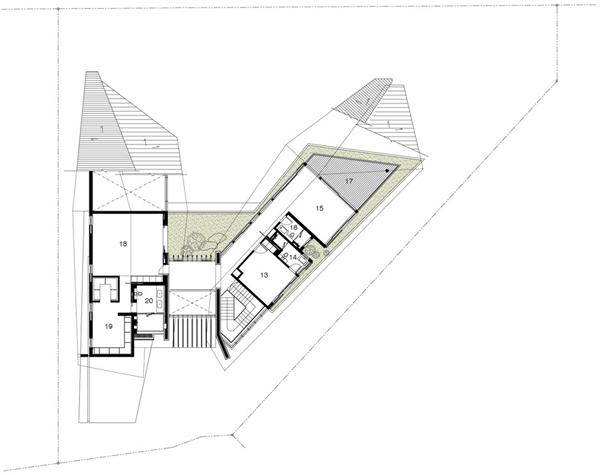 Planos contemporáneos de casa en Singapur (2)