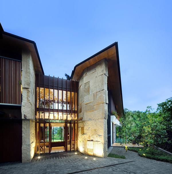 Planos contemporáneos de casa en Singapur (11)