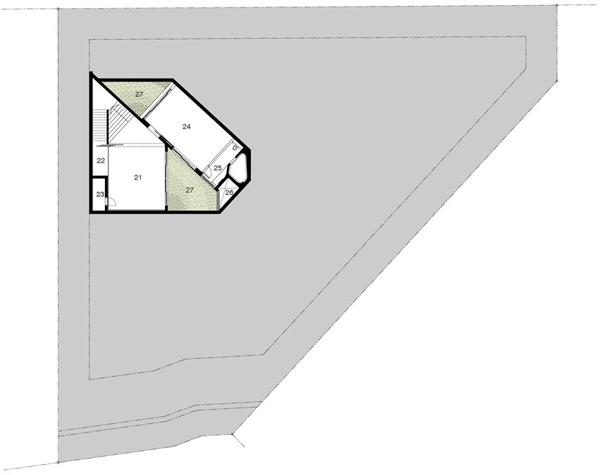 Planos contemporáneos de casa en Singapur (10)