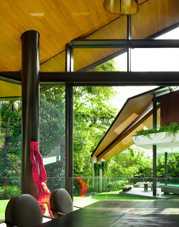 Planos contemporáneos de casa en Singapur (9)