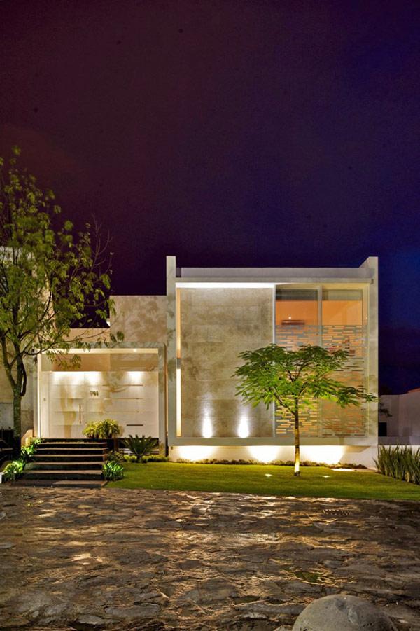 Planos de casa divina en México con características lujosas (21)