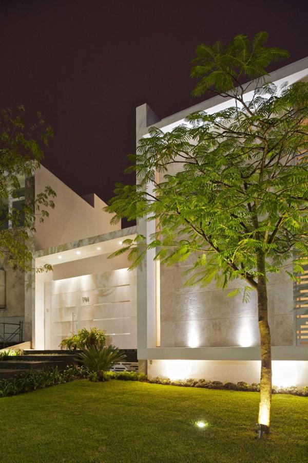 Planos de casa divina en México con características lujosas (20)