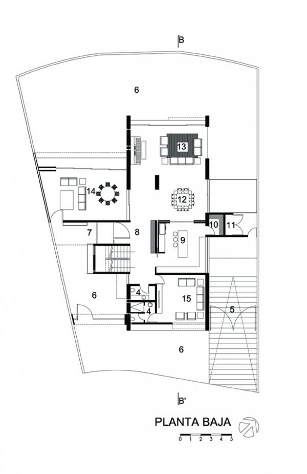 Planos de casa divina en México con características lujosas (1)