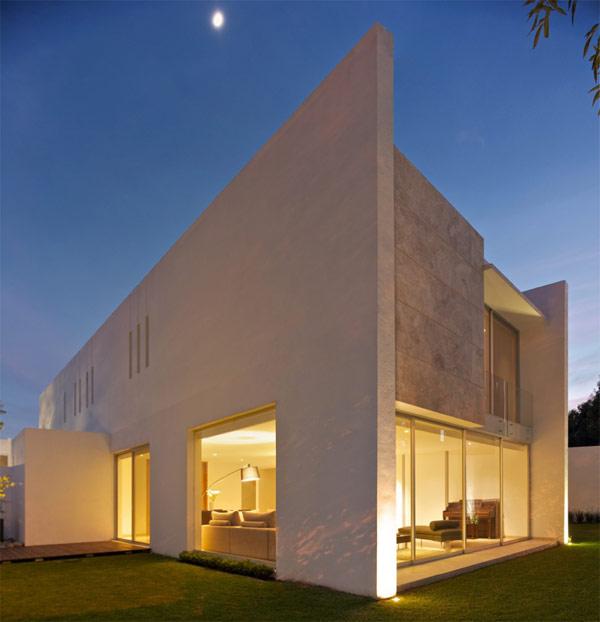 Planos de casa divina en México con características lujosas (19)