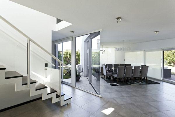 """Planos de casa moderna la casa """"V"""" (15)"""