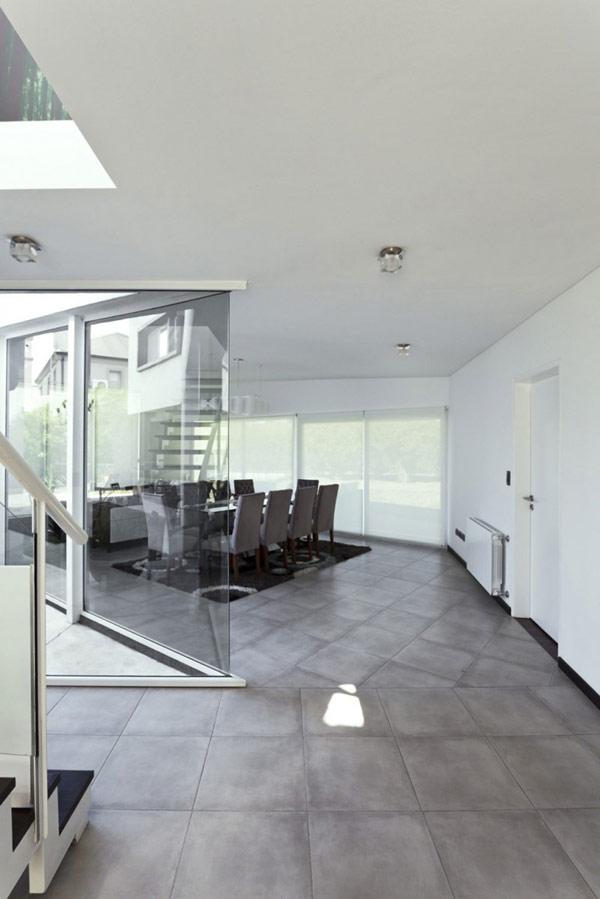 """Planos de casa moderna la casa """"V"""" (13)"""