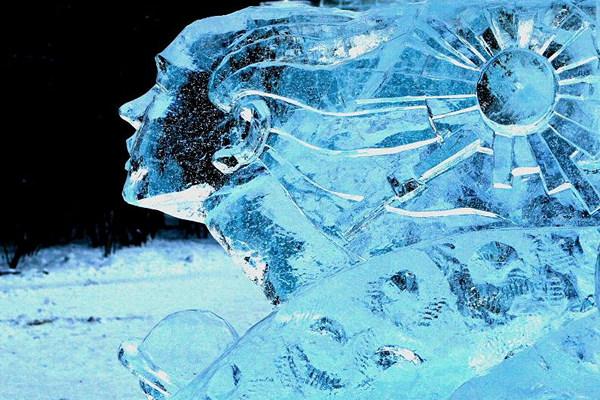 Arquitectura hecha de hielo en china (9)