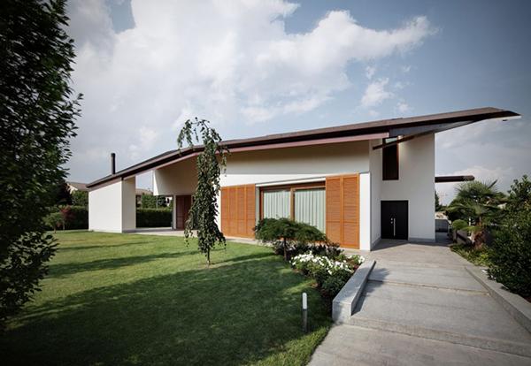 Arquitectura urbana en Italia residencial villa Garavaglia (17)