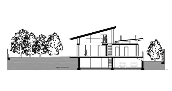 Arquitectura urbana en Italia residencial villa Garavaglia (7)