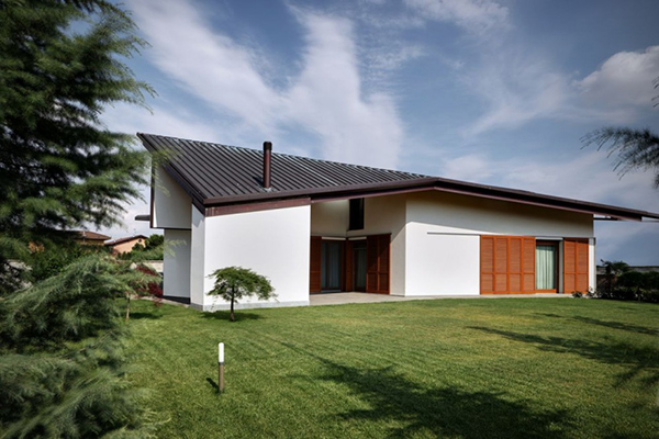 Arquitectura urbana en Italia residencial villa Garavaglia (4)