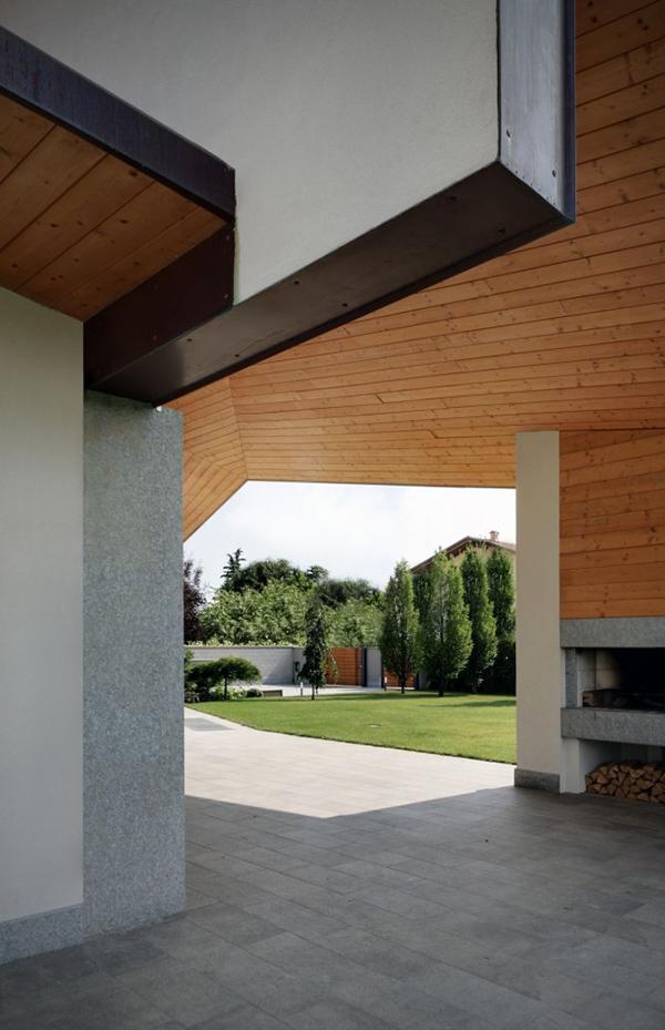 Arquitectura urbana en Italia residencial villa Garavaglia (3)