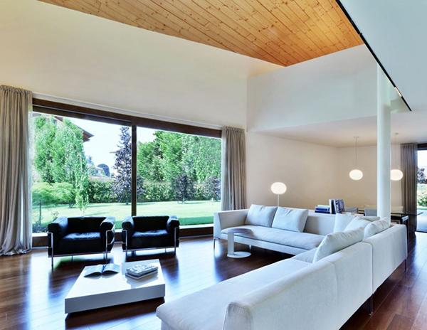 Arquitectura urbana en Italia residencial villa Garavaglia (2)