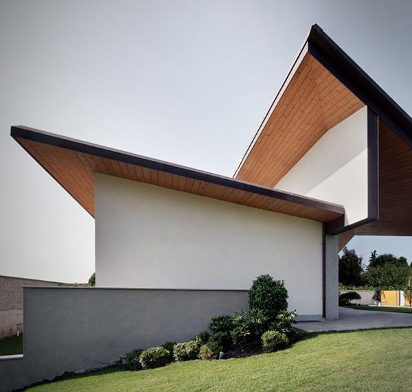 Arquitectura urbana en Italia residencial villa Garavaglia (1)