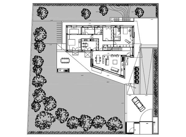 Arquitectura urbana en Italia residencial villa Garavaglia (14)