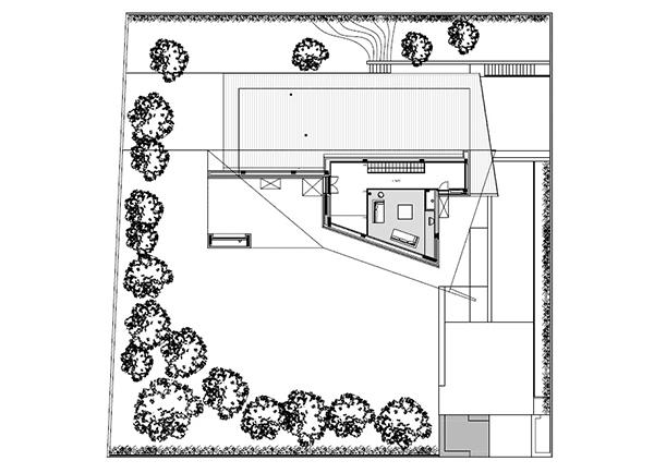 Arquitectura urbana en Italia residencial villa Garavaglia (13)
