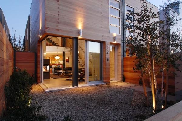 Complejo habitacional rural para cuatro familias (12)