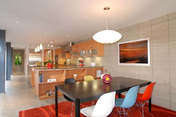 Complejo habitacional rural para cuatro familias (7)